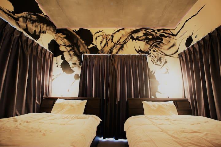 Kyoto 3min! Dragon's residence! Newly built hotel.