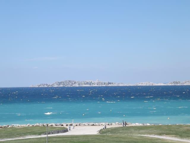 beautiful seaview - Marseille - Apartmen
