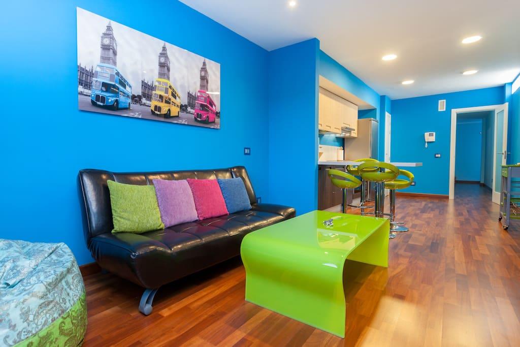 Piso de lujo centro laguna wifi apartamentos en for Piso estudiantes la laguna