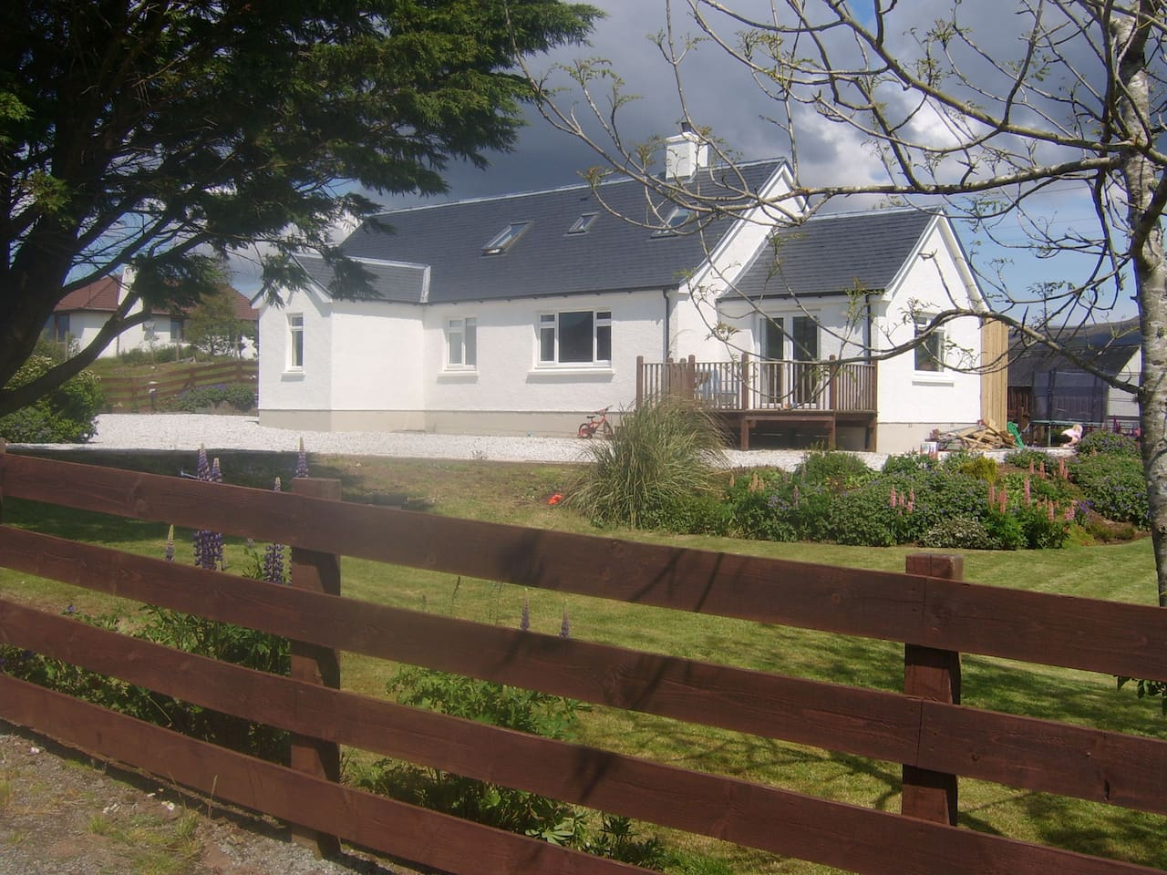 40 Bernisdale, Ally, Rachael and their children's family home.