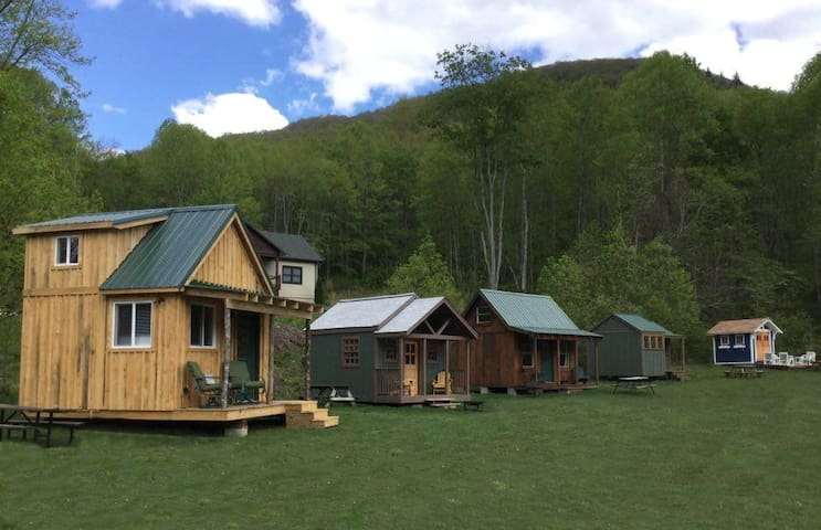 We now have 5 Camping Cabins!