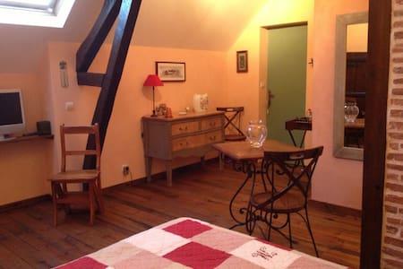 Chambre d'hôte Champagne Juliette - Pleurs - 家庭式旅館