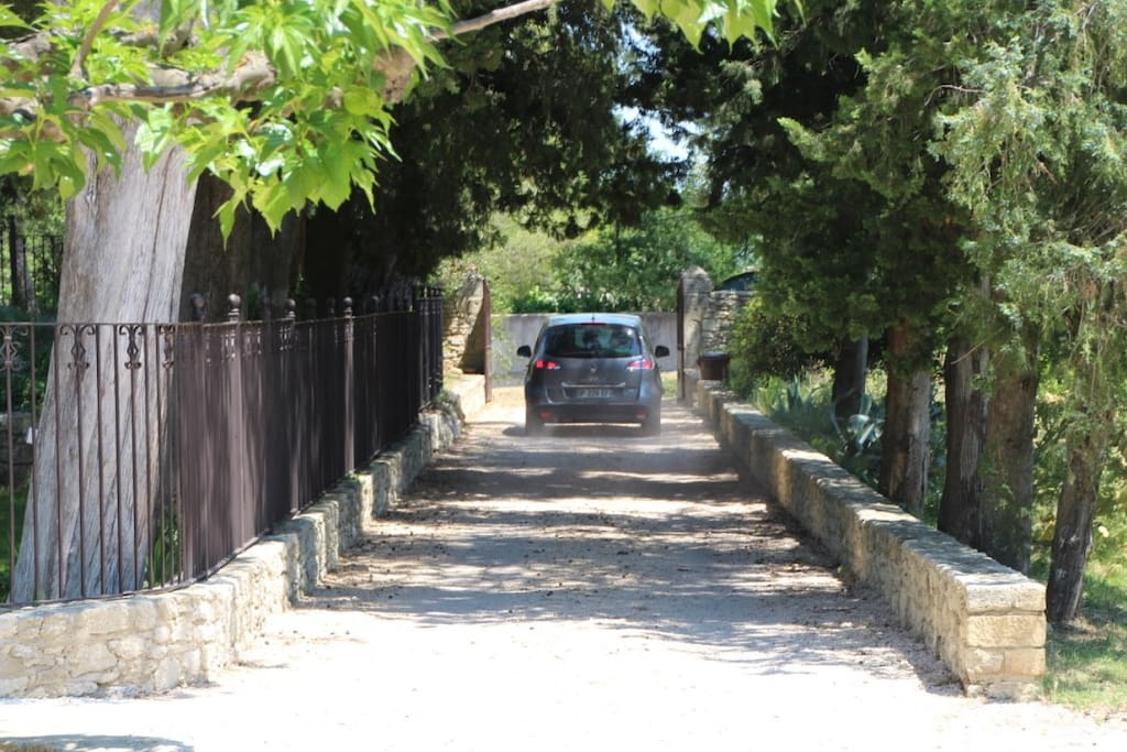 Secure property with remote controlled gates