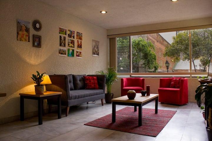 Beautiful well located apartment (Colonia Juárez)