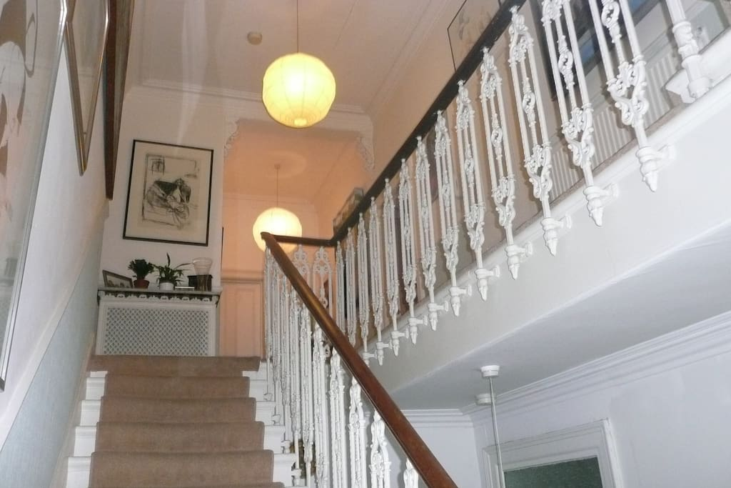 Staircase leading from entrance hall