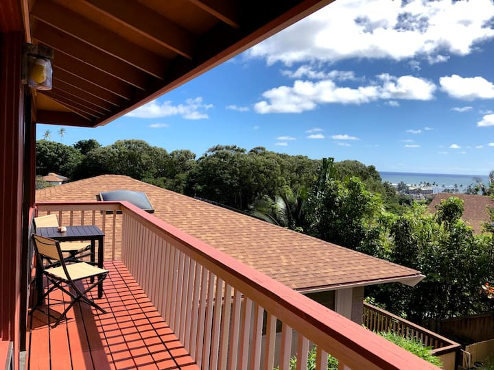 Large Studio with Ocean View- Permitted by County