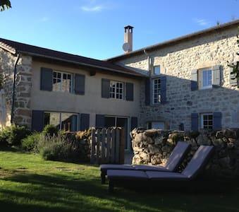 Chambre et table d'hôtes de charme Auvergne - Saint-Pierre-du-Champ - Gästehaus