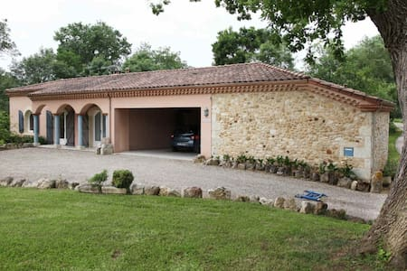 Maison dans la campagne gersoise - Lagraulet-du-Gers - Haus