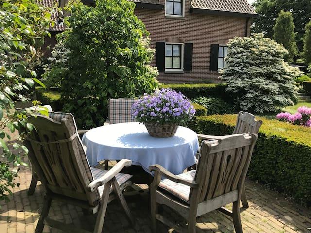 Landelijk gelegen B&B in Riethoven