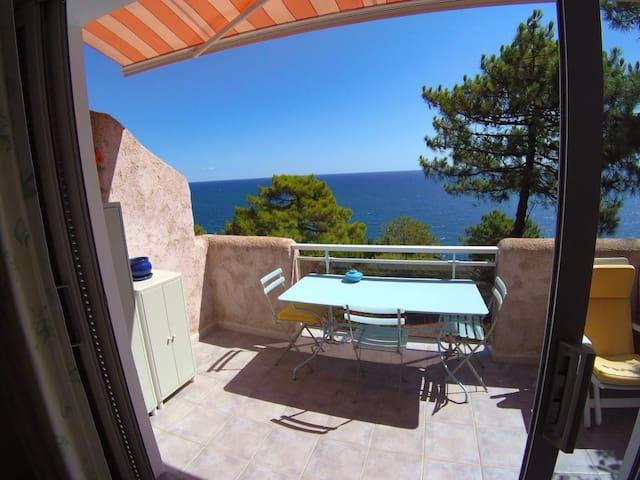 Villa Tarco Corse du Sud vue mer