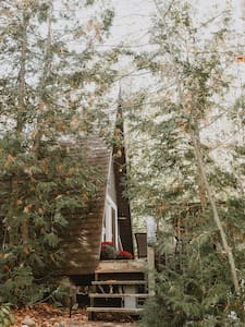 BacktotheCabin A-Frame by babbling brook