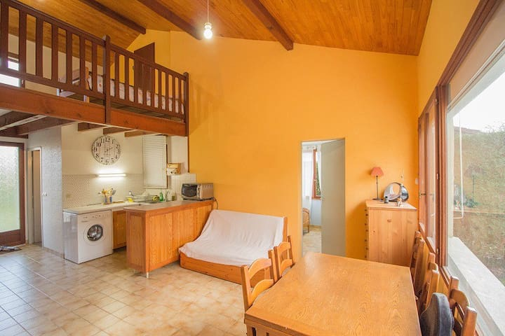 Appartement 1 chambre et mezzanine - Aureilhan - Leilighet
