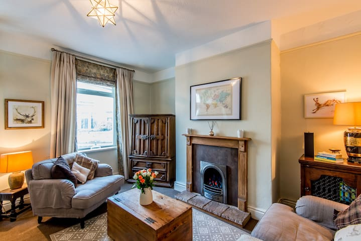 Cosy terraced cottage near Dales - Barnoldswick - Huis