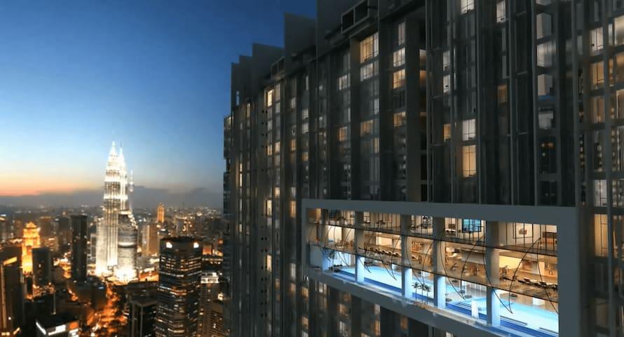 M CITY -Cheapest Hotel suite nearby KLCC - Kuala Lumpur - Vila