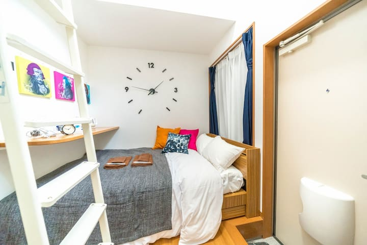 102. Cozy studio room easy access to Ikebukuro!