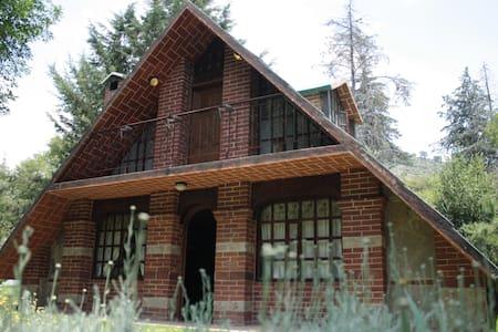 Quinta Rey Poeta - San Miguel Tlaixpán - 小木屋
