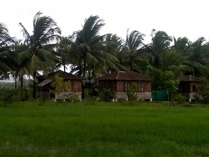 Saligao Farm wooden Hut No 1