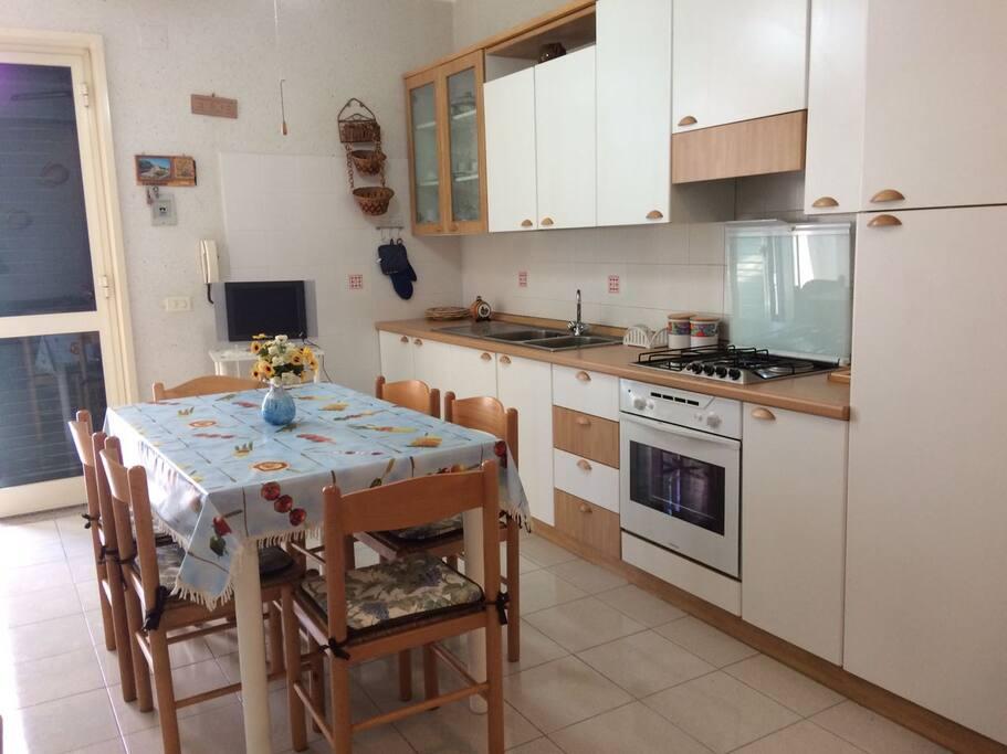 Spazio comune con cucina