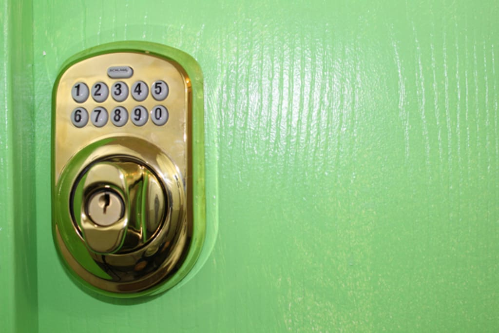 Secure Digital Room Door Lock