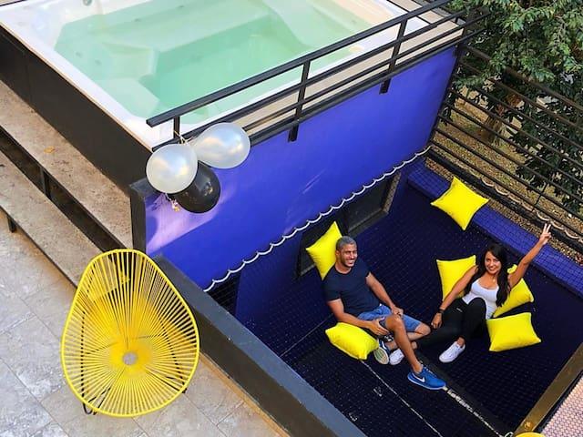 Exclusive Private Room - Shared bath / NODO HOSTEL