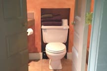 Your private bathroom! Full bath - shower and tub. We provide everything you need!