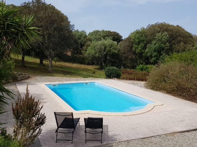 Bungalow à Tizzano,  piscine