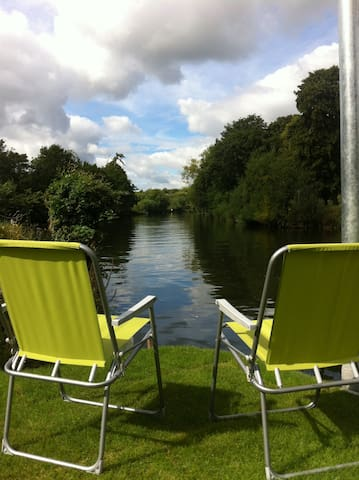 Avon View Riverside House - Evesham - Hus