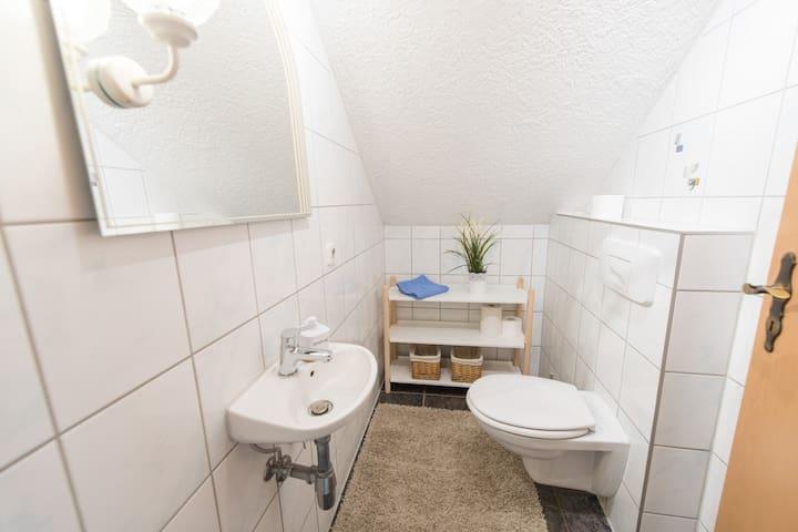 Gäste WC oben