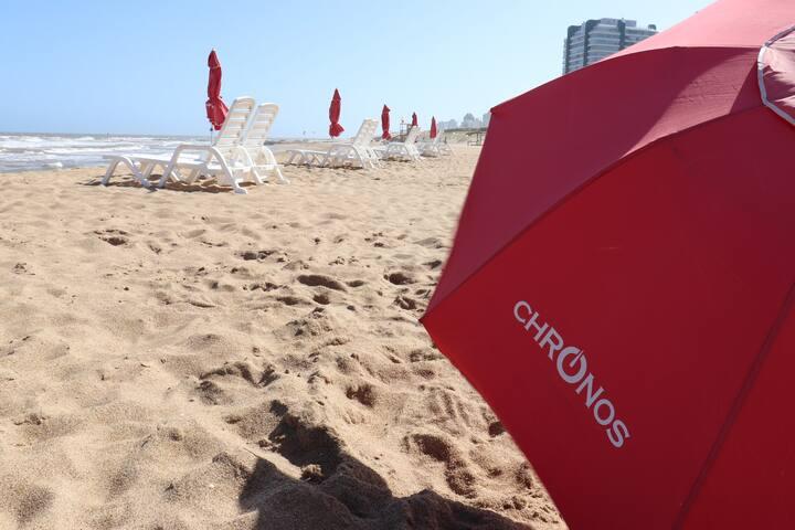 Servicio Chronos en Playa Zorba a 150 mts (Enero/Febrero)