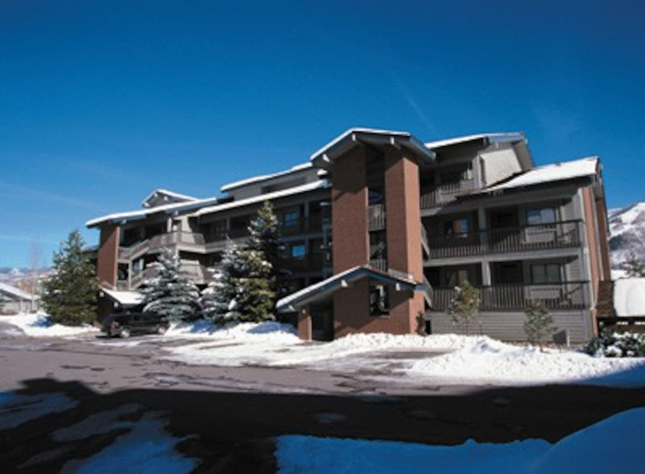 Mountain-CO-Steamboat Springs 1 Bdrm Condo #1