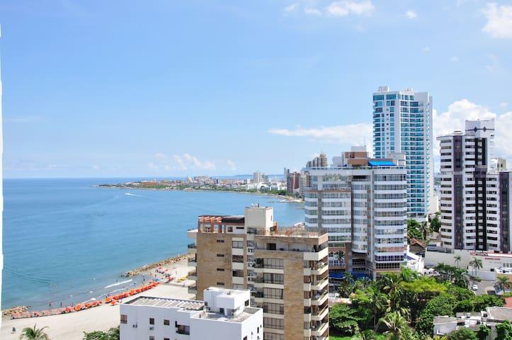 Cozy & Nice 2 bedroom Apt Cartagena - Cartagena - Byt