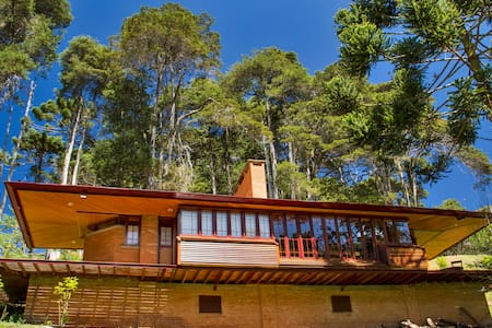 Chalet aconchegante no bosque - Campos do Jordão