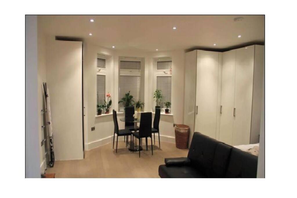 Archway mews putney sw15 stylish studio appartamenti in for Soggiorno studio inghilterra