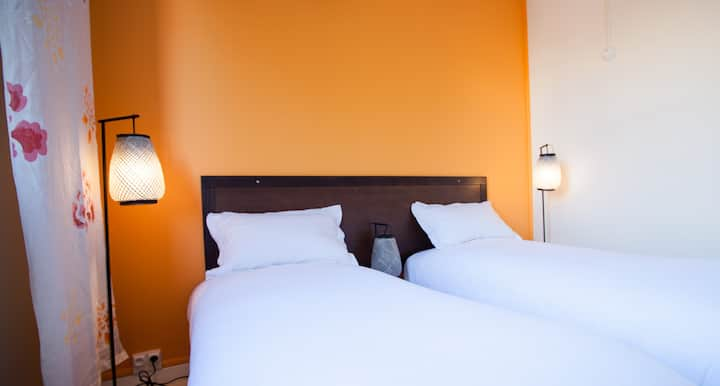 MOODz HOTEL Chambre Asie Twin