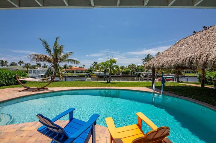 Charming Hobe Sound Waterfront Home/boat lift