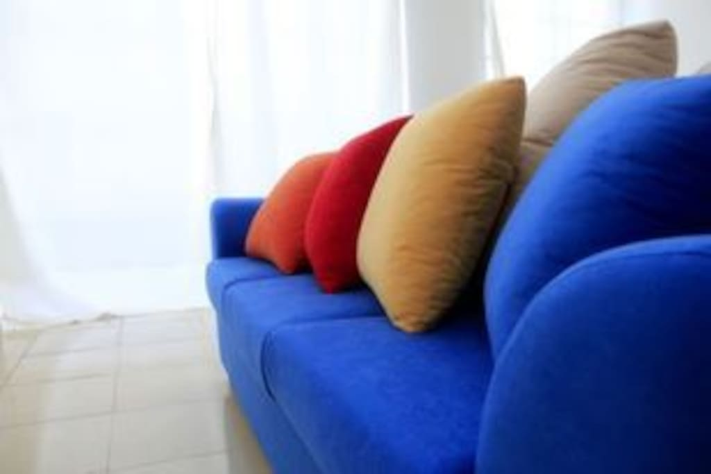 Do you love the colour of this sofa? it's super comfy!