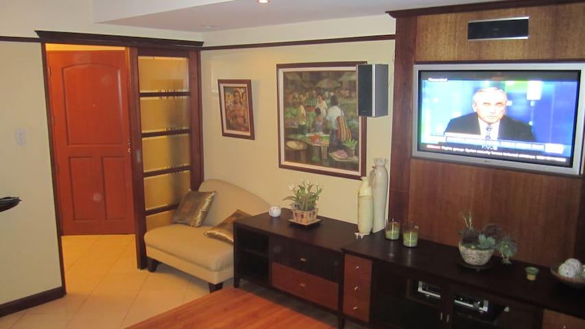 Makati high end studio condominium - Makati - Apartment