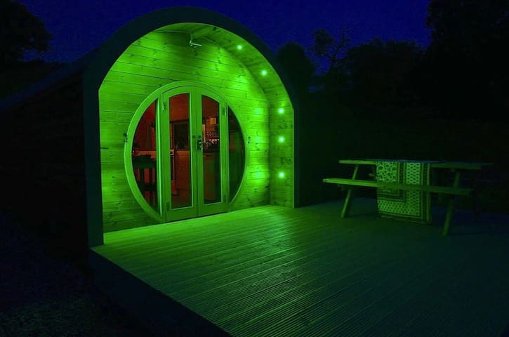 Barnharrow Holiday Pods - Glamping in SW Scotland