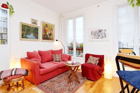 PEACEFUL OASIS IN THE MONTMARTRE - Parijs - Appartement