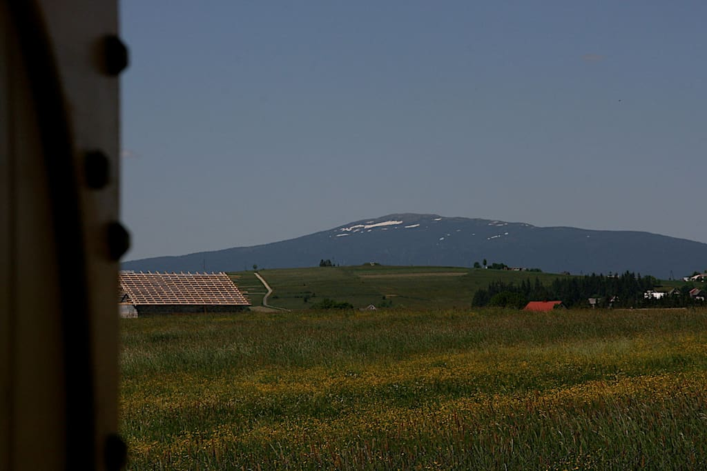 View from home to the Babia Gora