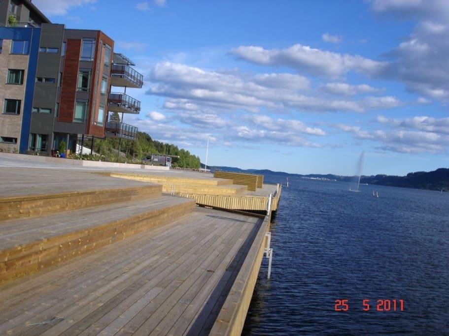 150 m long boardwalk