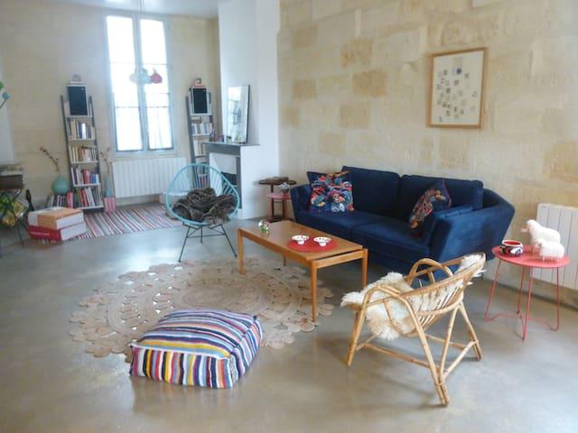 Belle maison en pierre à Bordeaux - Bordeaux - Dom