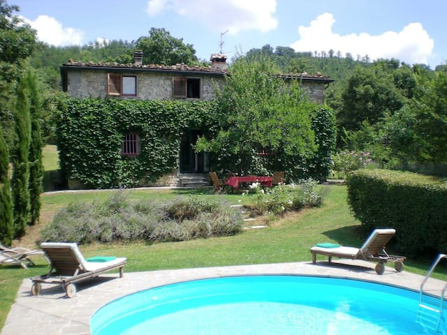 Casa colonica in pietra, Toscana - Sansepolcro - Huvila