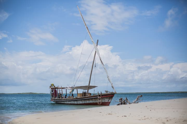 Sail the Lamu archipelago on a private Dhow