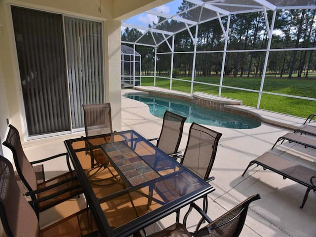 Highlands Reserve 3/2 pool home property, fully furnished, with full kitchen, and all linens and towels. - DAVENPORT - Casa