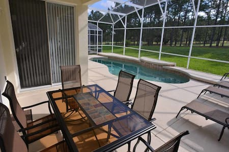 Highlands Reserve 3/2 pool home property, fully furnished, with full kitchen, and all linens and towels. - DAVENPORT - Haus