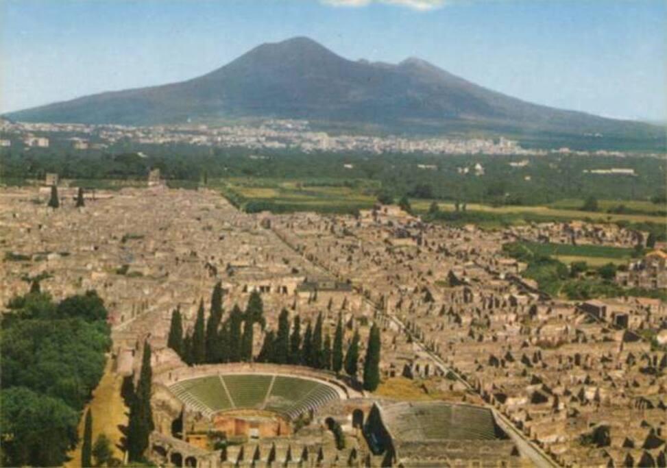 Veduta Scavi Pompei
