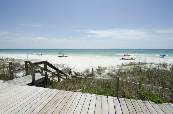 Four Steps ~ Inlet Beach ~ Beachfront ~ Paradise Properties