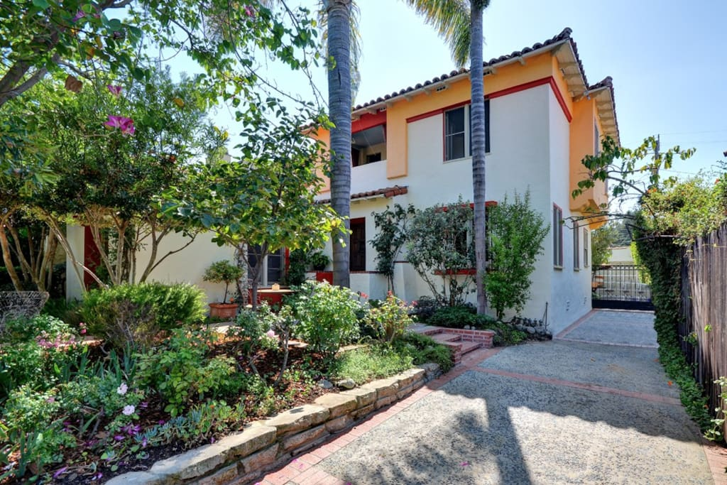 Our 1932 Spanish revival home.