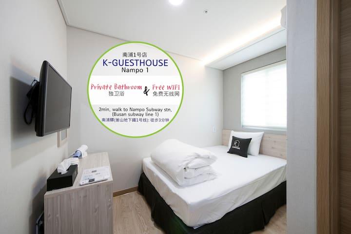 K-GUESTHOUSE PREMIUM NAMPO 1 #SINGLE01
